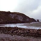the cliffs at portmuck ... by SNAPPYDAVE