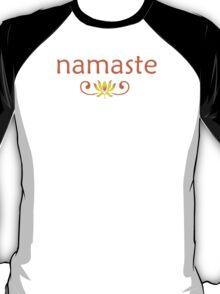 Orange Namaste T-Shirt