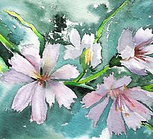 Woodland Blossoms by Marsha Woods