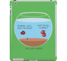 This is water iPad Case/Skin