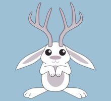 White Jackalope Kids Clothes