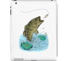 Jumping Bass iPad Case/Skin