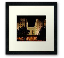 The Old Senator Hotel, Downtown Sacramento, CA Framed Print
