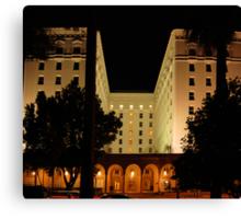 The Old Senator Hotel, Downtown Sacramento, CA Canvas Print