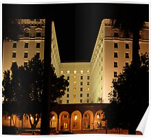The Old Senator Hotel, Downtown Sacramento, CA Poster