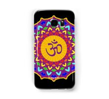 7th Chakra Mandala Yoga Om Samsung Galaxy Case/Skin