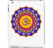 7th Chakra Mandala Yoga Om iPad Case/Skin