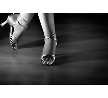 Latin dancing feet Photographic Print