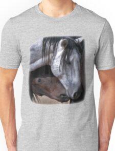 Loving Wild Mustangs Unisex T-Shirt