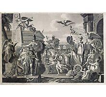 Treaty of Ghent 1814 Photographic Print
