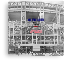 Cleveland Home of Baseball Fever Metal Print