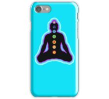 Chakras Meditation iPhone Case/Skin
