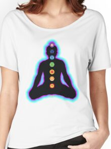 Chakras Meditation Women's Relaxed Fit T-Shirt