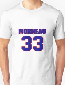 National baseball player Justin Morneau jersey 33 T-Shirt