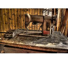 A Stitch In Time..... Photographic Print