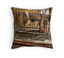 A Stitch In Time..... Throw Pillow