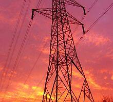 pylon ... by SNAPPYDAVE