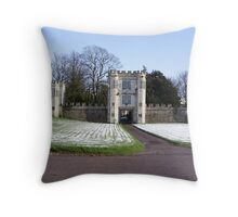 Shute house Throw Pillow