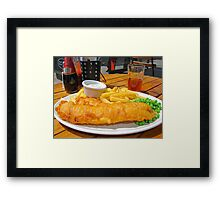 Lunch of Kings  Framed Print