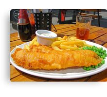 Lunch of Kings  Canvas Print