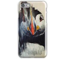 Smear puffin iPhone Case/Skin