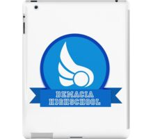 Demacia HIGHSCHOOL iPad Case/Skin
