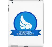 Demacia HIGHSCHOOL iPad Case/Skin