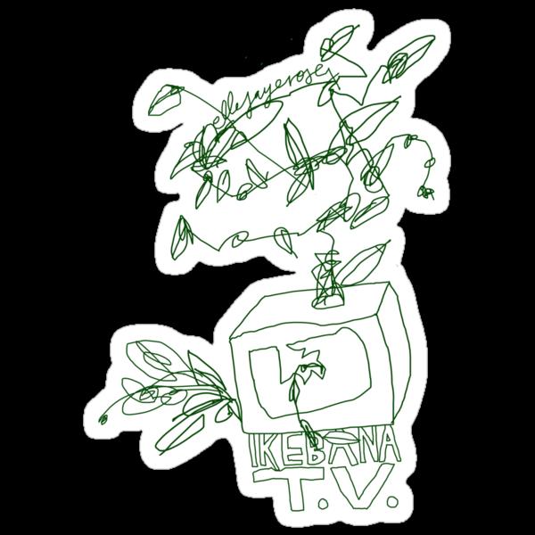 'Ikebana T.V.' by ellejayerose
