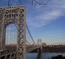 Jersey Side of the Bridge by LWCM
