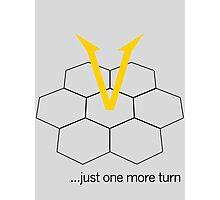 Civ V - One more Turn (light) Photographic Print