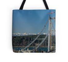 Tacoma Narrows & the Olympics Tote Bag