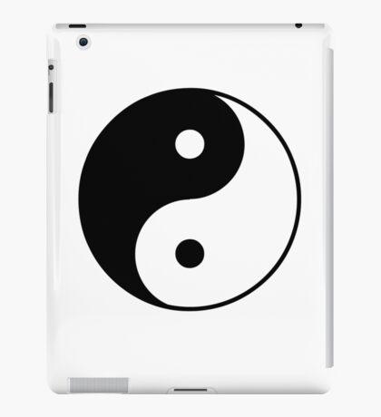 Yin Yang Symbol iPad Case/Skin