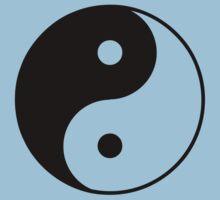 Yin Yang Symbol Kids Clothes
