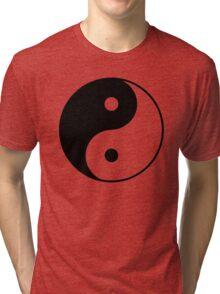 Yin Yang Symbol Tri-blend T-Shirt