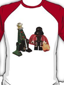 Santa Vader and a Droid Tree! T-Shirt