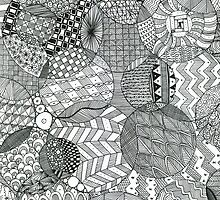 Zentangle Circles by ally1021