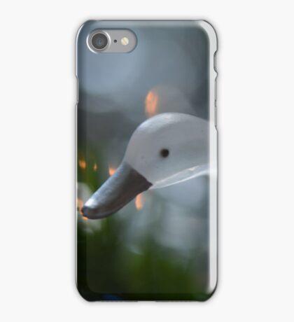 Glass Swan Flying iPhone Case/Skin