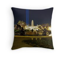 J.C. Nichols Fountain KCMO Throw Pillow