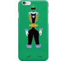 Super Mega Force Power Rangers Green Ranger iPhone Case/Skin