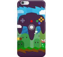 N64 LAND - CONTROLLER iPhone Case/Skin