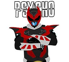 Psycho Ranger - Power Rangers in Space by simplepete