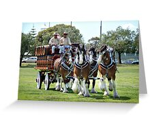 Colonial Brewing Co in Busselton Greeting Card