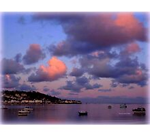 Dusk in Instow Photographic Print
