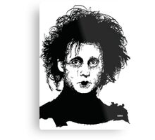 Edward Scissorhands Metal Print