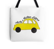 Neal & Emma (Swanfire) - I stole a stolen car? (Once Upon A time) Tote Bag