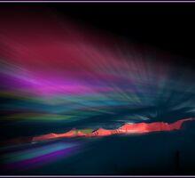 Snowfence Borealis by Wayne King