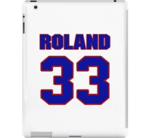 National baseball player Jim Roland jersey 33 iPad Case/Skin