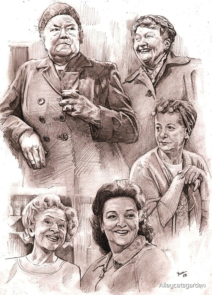Corrie Babes of days gone by by Alleycatsgarden