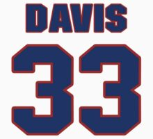 National baseball player Butch Davis jersey 33 by imsport