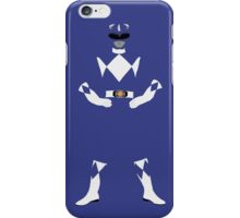 Mighty Morphin Power Rangers Blue Ranger iPhone Case iPhone Case/Skin